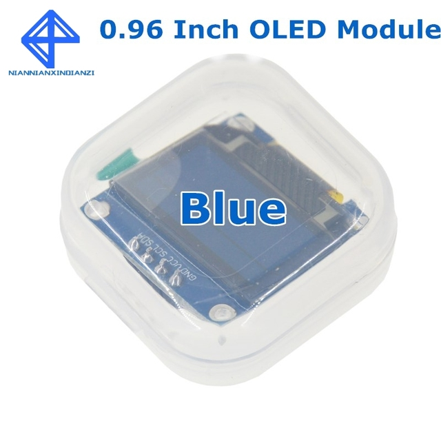 Blue White color 128X64 Yellow Blue OLED LCD LED Display Module For Arduino 0.96 inch I2C IIC Serial new original 1