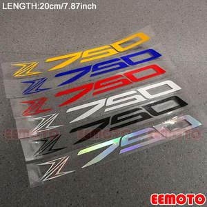 Gloss Arancione Ruote Moto Cerchione Inner Rim Tape Decalcomanie Adesivi per Kawasaki Z750