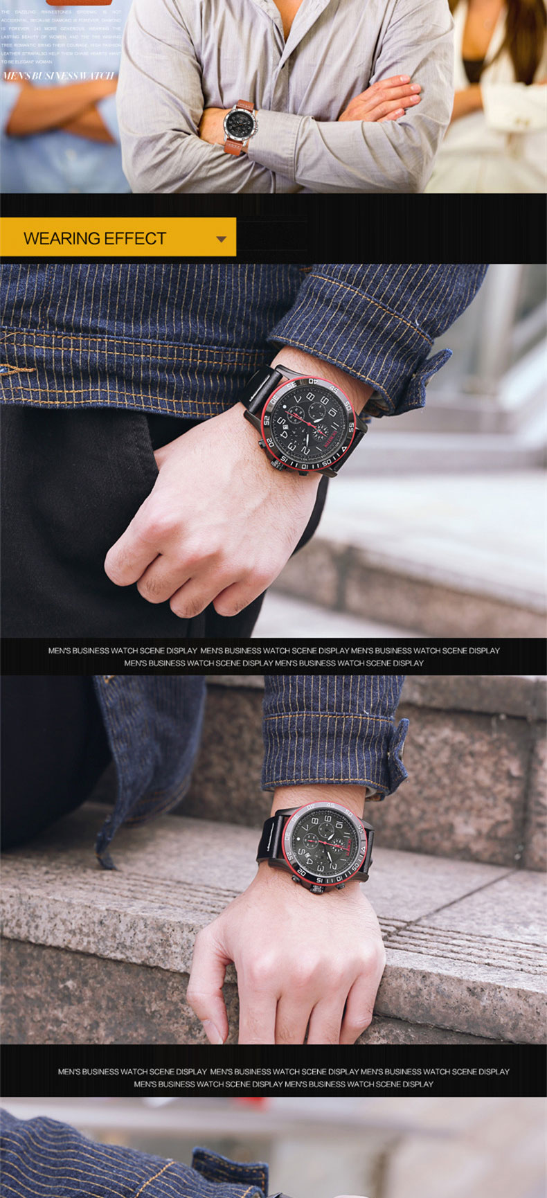 17 Men Watches Luxury Top Brand OCHSTIN Sports Chronograph Fashion Male Dress Leather Belt Clock Waterproof Quartz Wrist Watch 7