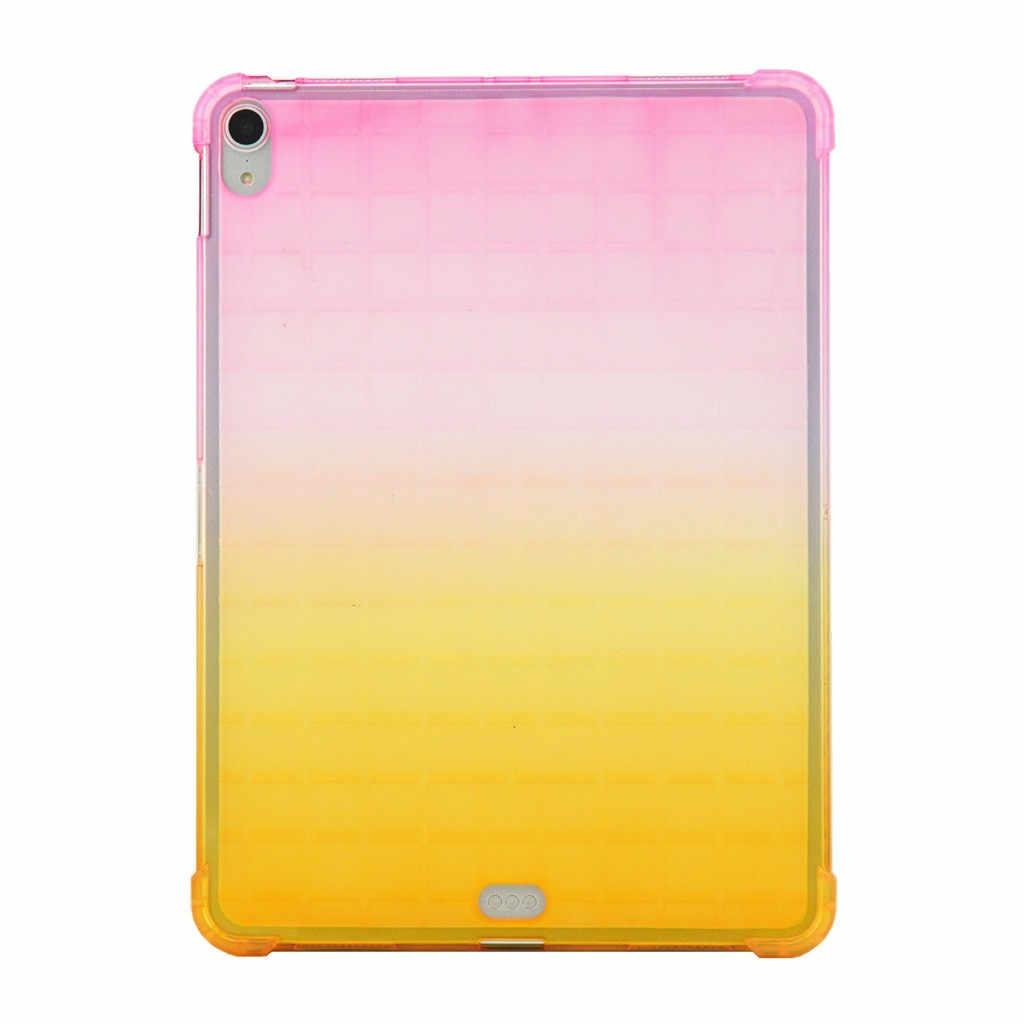 Capa de Silicone Para Apple iPad Novo Pro 11in 2019 caso tablet Para iPad Pro 11 Limpar Ultra Fina TPU Macio case Capa # y4