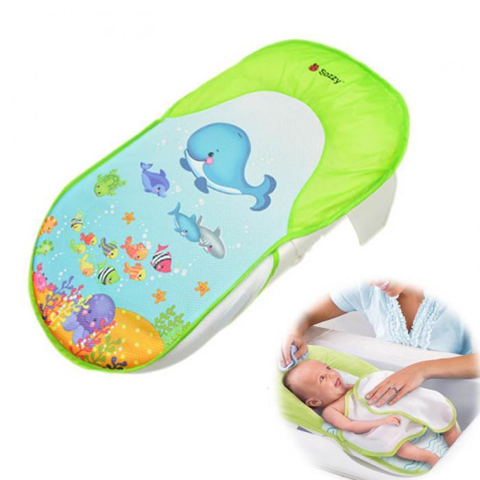 2 Sozzy Foldable Newborn Bath Tub/Bed/Pad Kids Shower Net Baths ...