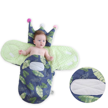 Sleepwear Robes Baby Sleeping Pillow Cartoon Animal Cotton Stroller Wheelchair Envelopes for Newborn Sleepsacks