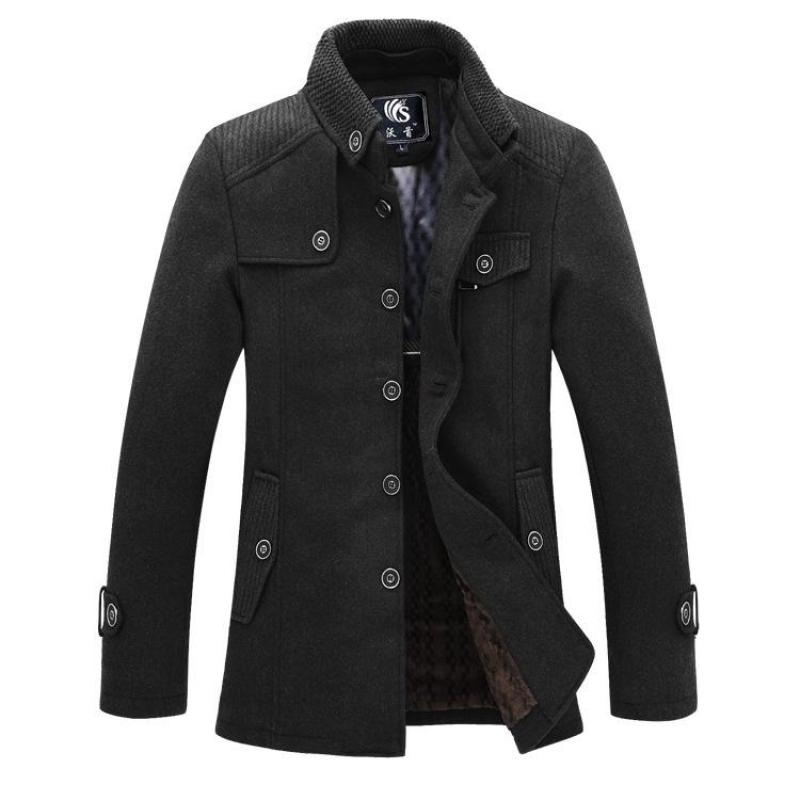 Online Buy Wholesale long winter coats men from China long winter