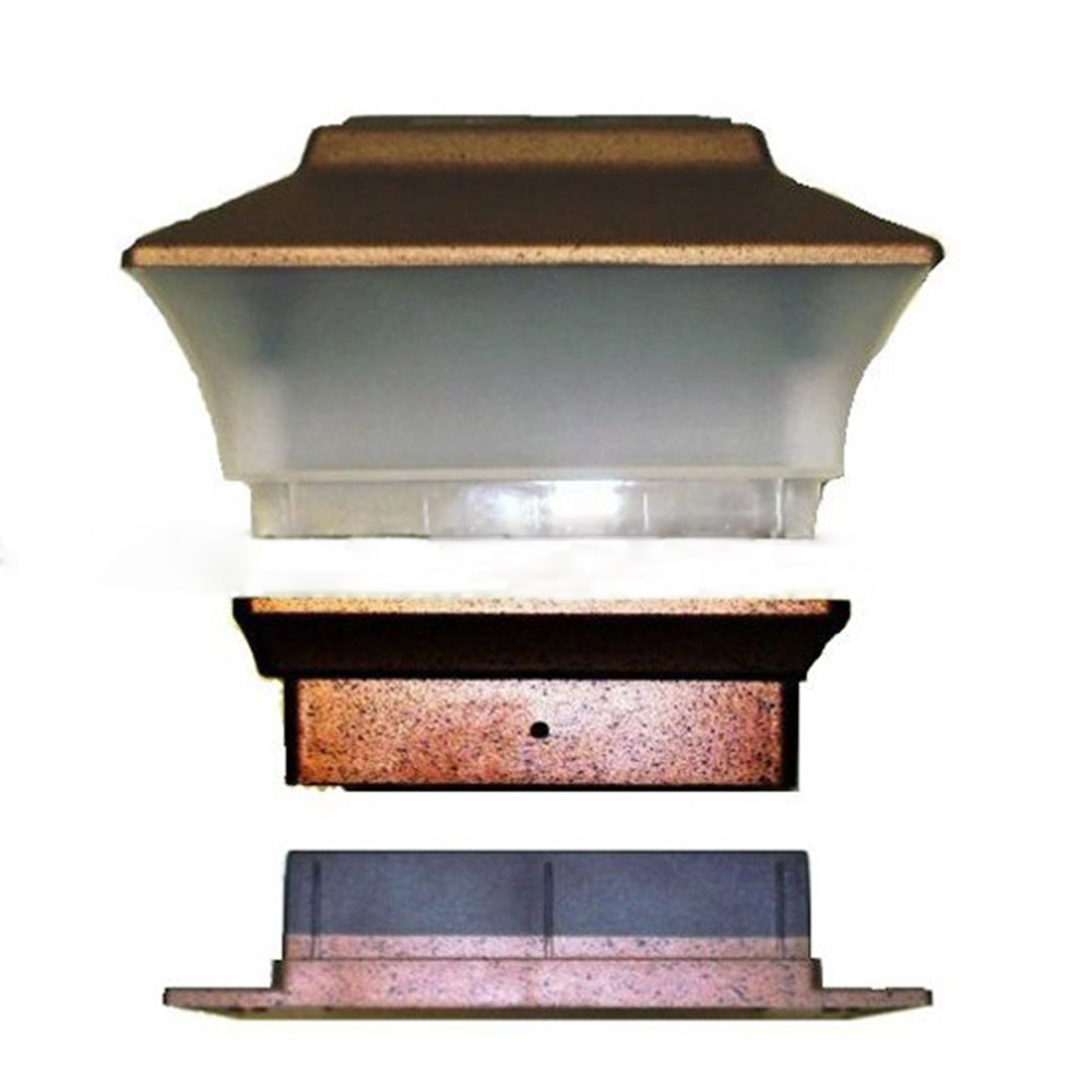 japanese outdoor lighting. New Japanese Design 8pcs/lots Outdoor Garden Solar LED Post Deck Cap Square Fence Light Landscape Lamp Pillar Yard Lighting On Aliexpress.com   Alibaba N