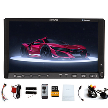 3D Radio EQ Video Autoradio 2 Din 7″ Car DVD Player RDS Sub SD MP3 8GB GPS Map Auto FM Stereo AMP Receiver iPod