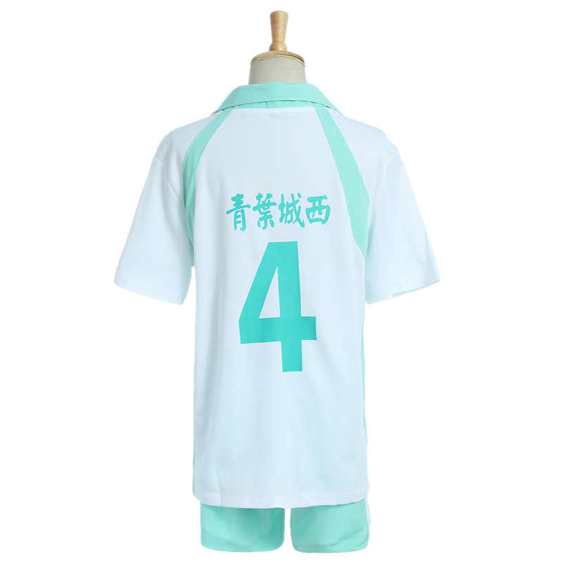 KIGUCOS Karasuno Liceo Oikawa Tooru Cosplay Costumi Haikyuu!! Uniforme Pallavolo Maglie Sport Wear Top e Pantaloni Set