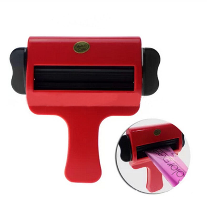 Newest Design Plastic Cream Squeezer Hair Salon Color Squeezer For Dyeing Cream Household Toothpaste Squeezer Tube Tools