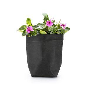 Image 4 - Washable Kraft Paper Bag Plant Flowers Pot Multifunction Home Storage Bag Reuse Art Vase Pot Reusable For Home Decor