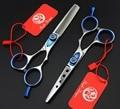 Быстрая доставка! Профессиональный марка инструменты для укладки 5.5 дюймов ножницы высокая - класс парикмахерские парикмахерская салон ножницы с чехол