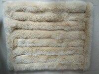 Одеяло с натуральным лисьим мехом для пеленания новорожденного ребенка мягкое и удобное