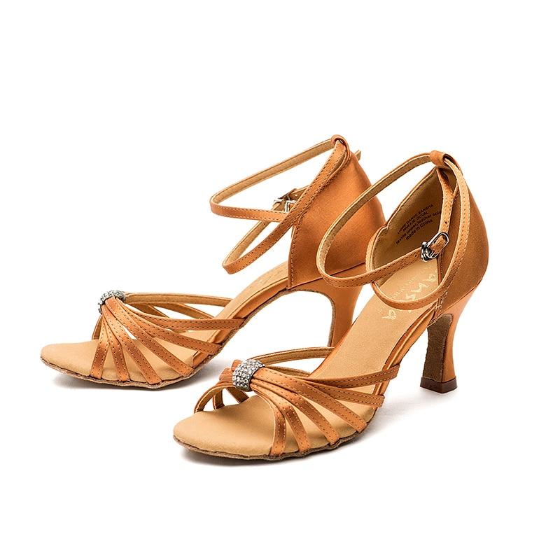 Sansha 2017 brand new ballroom shoes salsa tango soft for Ballet shoes decoration