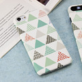 Triangular Shape Moblie Phone Case for iPhone 7&iPhone 7Plus Triangular Shape Phone Case Geometry Cartoon Phonecase IK2047-12