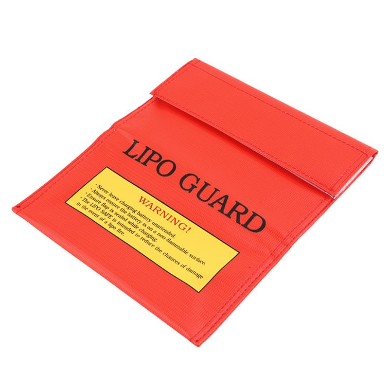18x23cm RC LiPo Li-Po Battery Fireproof Safety Guard Charge Bag Sack  Protective Storage Bag Pouch