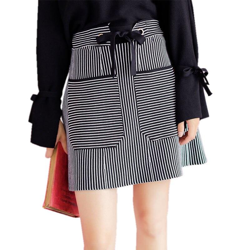 Casual font b Skirts b font for font b Women b font Double Pockets Short Mini