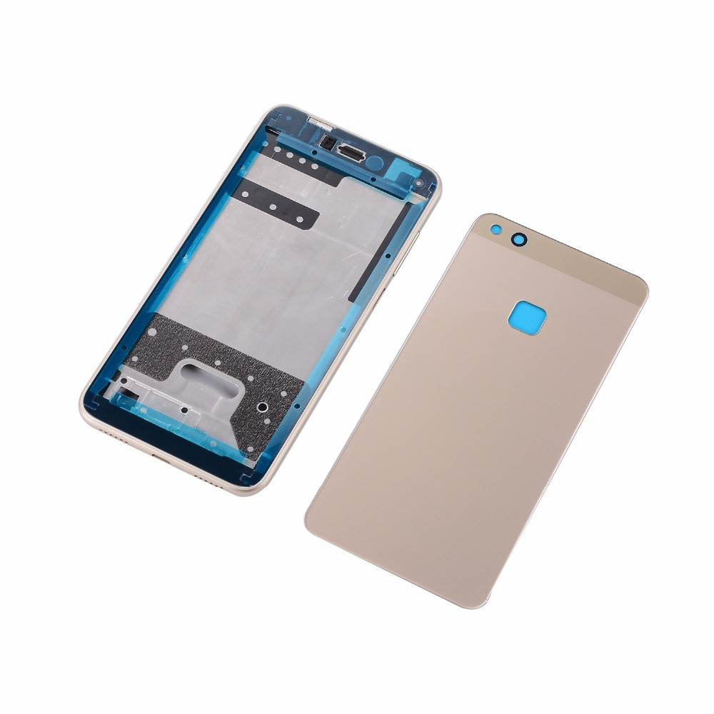 For <font><b>Huawei</b></font> <font><b>P10</b></font> Lite LCD Front Frame+Glass Back <font><b>Battery</b></font> <font><b>Cover</b></font>+Housing Middle Frame Adhesive Sticker+Buttons image