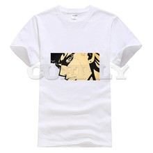2019 New T-shirt Jojo Bizarre Adventure Thsirt Cool Japan Anime Cartoon Black And White Summer Dress Men Tee Funny T Shirt