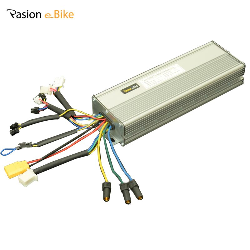 PASION EBIKE 48V 1500W/2000W Brushless DC Sine Wave 18 Mosfet Controller 36V 1200W <font><b>Electric</b></font> Bicycle 45A Controllers Controleur