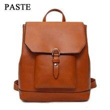 413a6b8fd29e Женский рюкзак из искусственной кожи рюкзаки для дам Классическая школьная  сумка для девочек рюкзаки подростковые однотонные