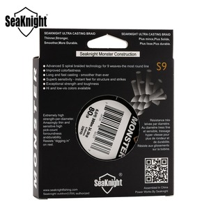 Image 5 - SeaKnight marca S9 trenza línea de pesca 300M 20 a 100LB fuerte, duradero 9 hebras suave línea de PE S espiral trenzado Tech agua salada