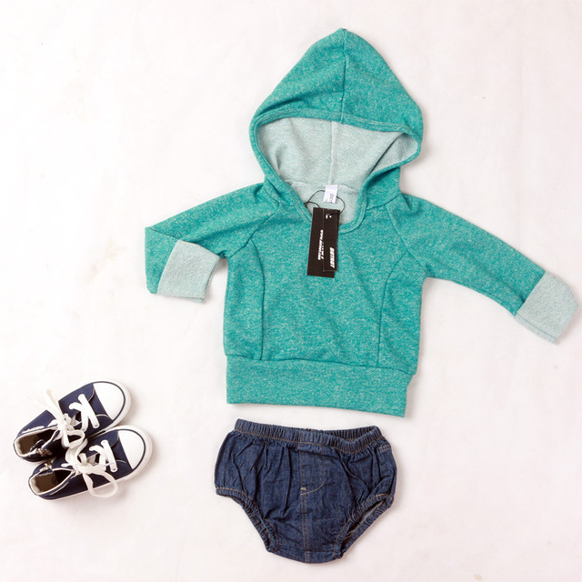 1Pcs Kids Sweaters Long Sleeve O Neck Tops For Baby Girl Shirt Boy Toddler Costumes Heather Color Fashion spring Baby Clothes
