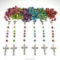 Fashion empire expensive bead catholic rosary 6 colors birthstone bead rosary