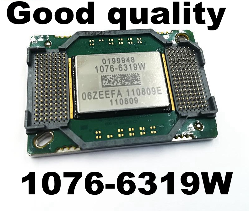 Free shipping NEW original 1076-6319W 1076-6319 1076 6319W big DMD chip for projectors/projection free shipping 1076 6319w 1076 6318w projector dmd chip 1076 6328w 1076 6329w with 1 month for x1260 p5270 mp523 mp624 mp622