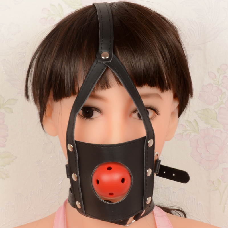 Hot Sale Ball Gag Open Mouth Gaged Stuffed Bondage Restraints Sex Toys For Couples Flirting Slave Fetish Mouth Gag Tools St