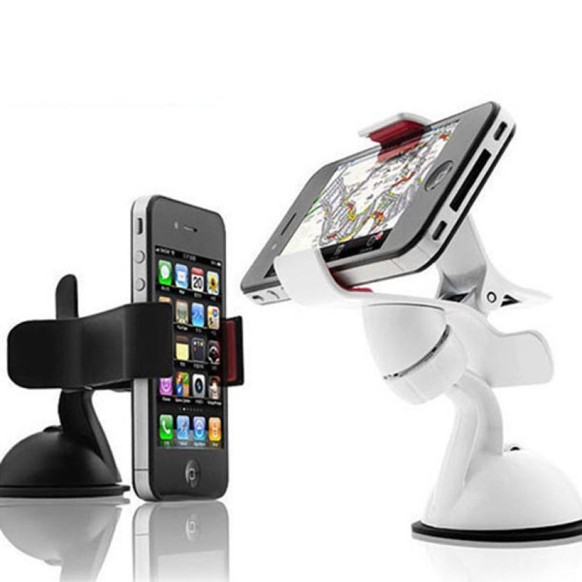 Universal Car Windshield Mount Holder phone car holder For iPhone 7 7plus 6 6splus 5S 5G