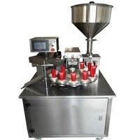 USF 100 A 12 Holes Auto Ultrasonic Cream Paste Filling Machine Soft Tube Sealer Machine