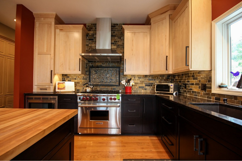 2017 Solid Wood Unfinished Kitchen Cabinets Dicount Price Wholesale Kitchen  Remodel New Hot Kitchen Furniture Made