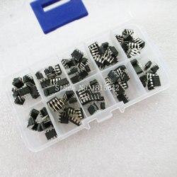 100PCS/Box NE555 UC3842 UC3843 UC3845 24C02 24C04 24C08 24C16 24C32 24C64 DIP IC Assortment Kit Each 10PCS