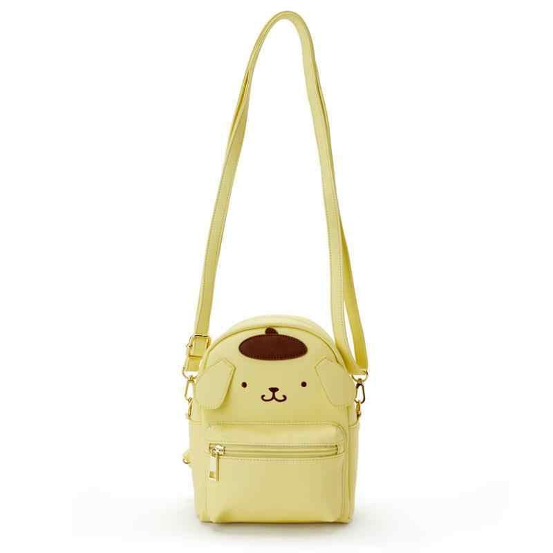 Sevimli My Melody Cinnamoroll Kuromi PU Deri Omuz askılı çanta Küçük Sırt çantası Crossbody Çanta Kadınlar Kızlar için tek kollu çanta