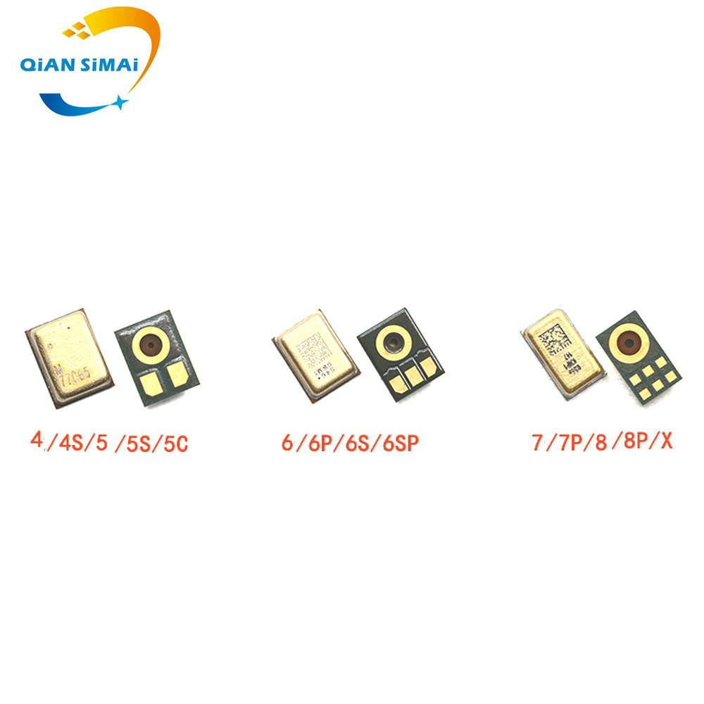 QiAN SiMAi  New Replacement Microphone For Iphone 4 4S 5 5S 5C 6 6G 6S 7 4.7