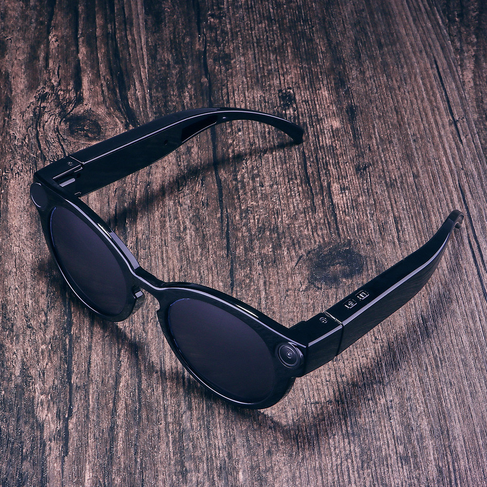 ET K11 Smart Glasses WiFi Camera HD Glasses Eyewear DVR Video Recorder 1080P Snapshot Camera Sun Riding Glasses Mini Camcorder in Mini Camcorders from Consumer Electronics