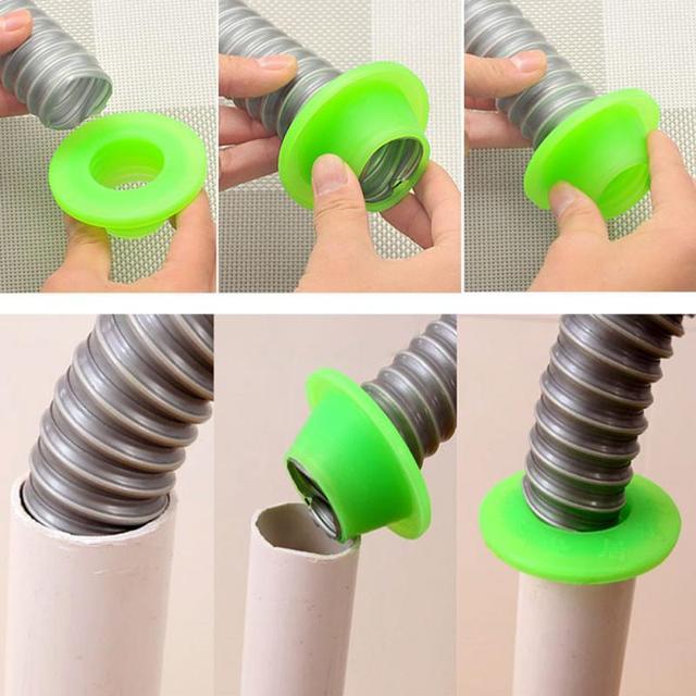 1 pz Bagno tubo di Fogna Pest Anti-odore di Deodorante Gel di Silice Anello di Tenuta Lavatrice Piscina Scarico A Pavimento di Tenuta spina