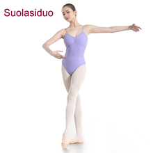 Adults Light Purple Gymnastics Ballet Skirt Training Dancewear Competition Dress for Women Stage Performance Practise Leotards