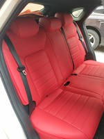 На заказ все натуральная кожа автомобиля чехол для Mercedes Benz A B C CLA CLK CLS Viano GLS R класс GLE AMG GLC SLK автомобильные аксессуары