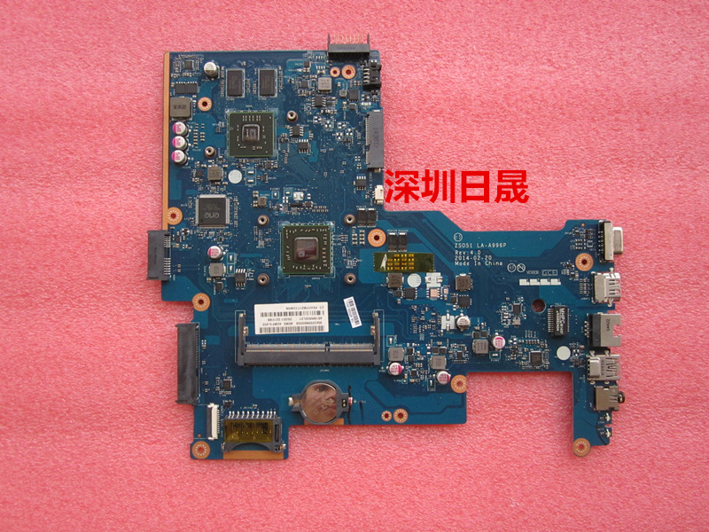764269-501 764269-001 Free Shipping For HP 15-G Laptop Motherboard ZS051 LA-A996P REV.40 mainboard 100% Tested