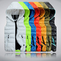 Autumn Winter Casual Hooded Vest Men High Quality Cotton-padded Chaleco Hombre Spring Comfortable Couples Sleeveless Jacket