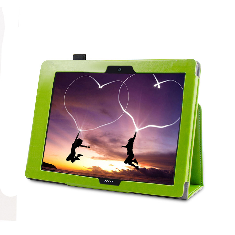 Artificial Leatherfolio Stand Design Compatible Folding Stand Painted Case Cover For Huawei Mediapad T3 10Inch