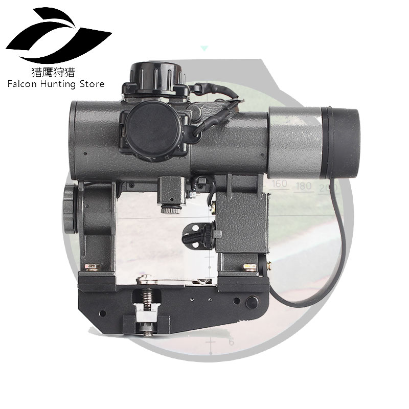 1X30 SVD Tactical Optics Sights Red Illuminated Hunting Riflescope fits for Tigr SKS Style Side Mount
