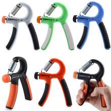 Hand Grip Strengthener Strength Trainer Adjustable Resistance 22-88 Lbs Exerciser Non-slip Gripper for Athletes Kid BB55