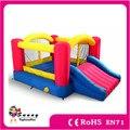 Frete Grátis, Uso da Casa Do Salto inflável Para As Crianças, bouncy castelo inflável e slide combo, casa do salto, pulando do castelo