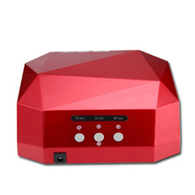 free shipping 36W AUTO UV LED Nail Lamp Nail Dryer Curing UV LED Gel Nails Polish Nail Art Tools for manicure