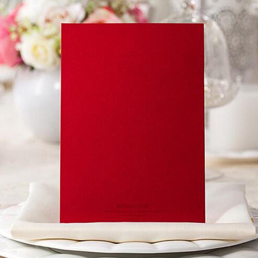1pcs Sample Elegant Laser Cut Wedding Invitations Card Baby Shower ...