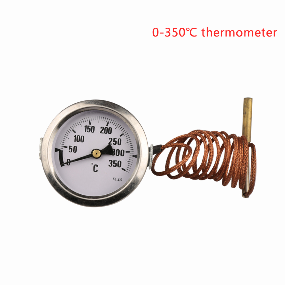 0-350 degrees celsius bolier thermometer,stainless steel water temperature gauge ,big water-temperature gage,TEMP