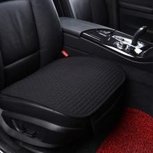 Dewtreetali 2018 tissu de lin chaud housse de siège de voiture quatre saisons avant arrière coussin de lin respirant protecteur tapis