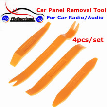4pcs/set Easy Use Portable Vehicle Auto Radio Panel Plastic Dash Door Clip Panel Trim Autom