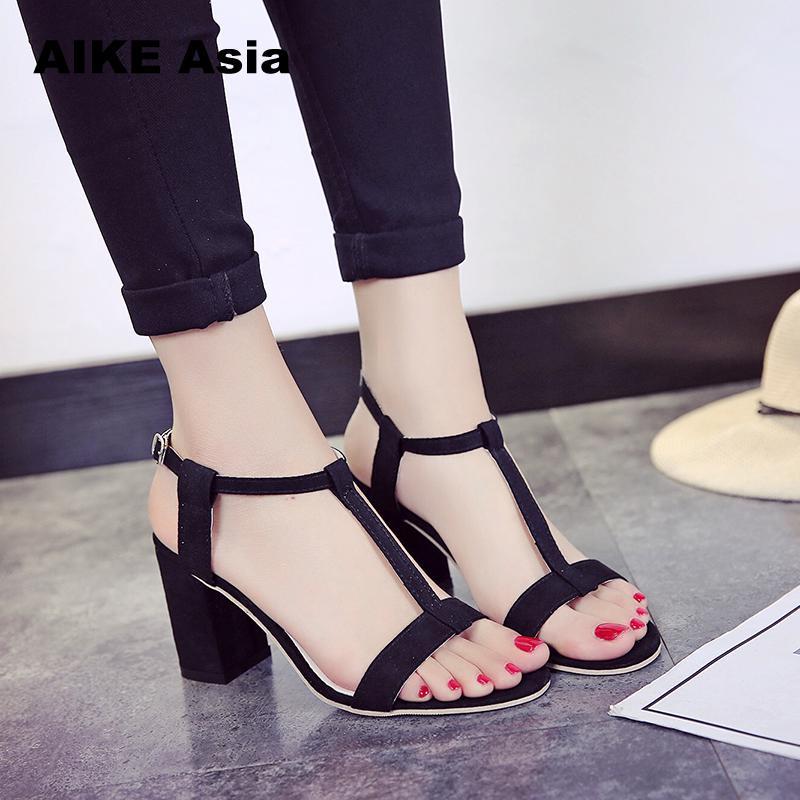 Wedding Shoes Buckle Ladies Heels #685