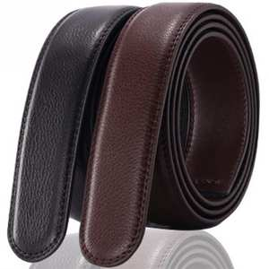 No Buckle Belt Body Strap Without Buckle Belts Men Good Quality Male Belts Automatic